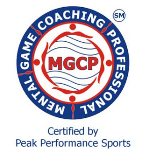 MGCP | Mental Game Coaching Professional | Certified by Peak Performance Sports